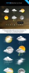 METEO2 Weather Icon Suite by reb70
