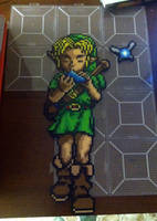 Young Link and Navi by Brentimous