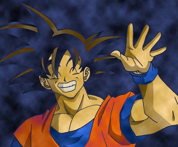 Goku by Nick-Kazama