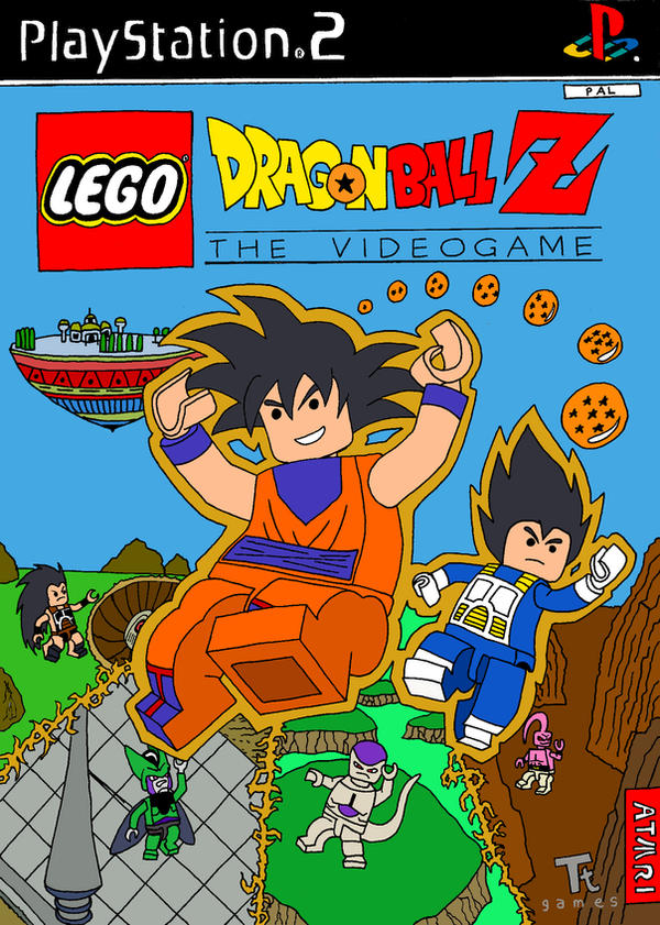 Lego DBZ: The Video Game by Nick-Kazama