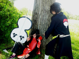 What are you doing Izuna? by xAxRikkudouCosplay