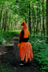Kumara in the forest... by xAxRikkudouCosplay