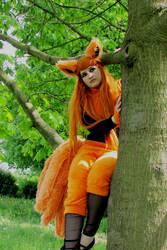 Kurama on the tree... by xAxRikkudouCosplay