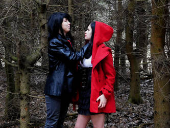 Little Red Riding Hood and Wolf... by xAxRikkudouCosplay