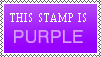Purple Stamp by WerBinIch