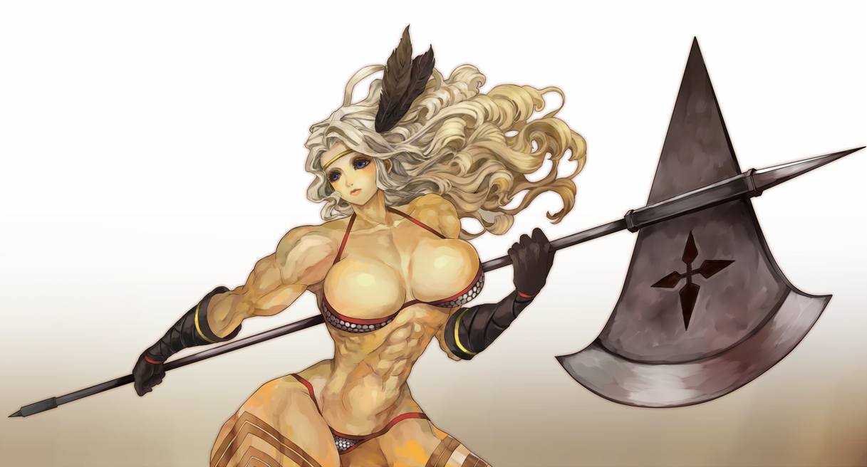 Commission : Amazon - Dragon's Crown by DomDozz