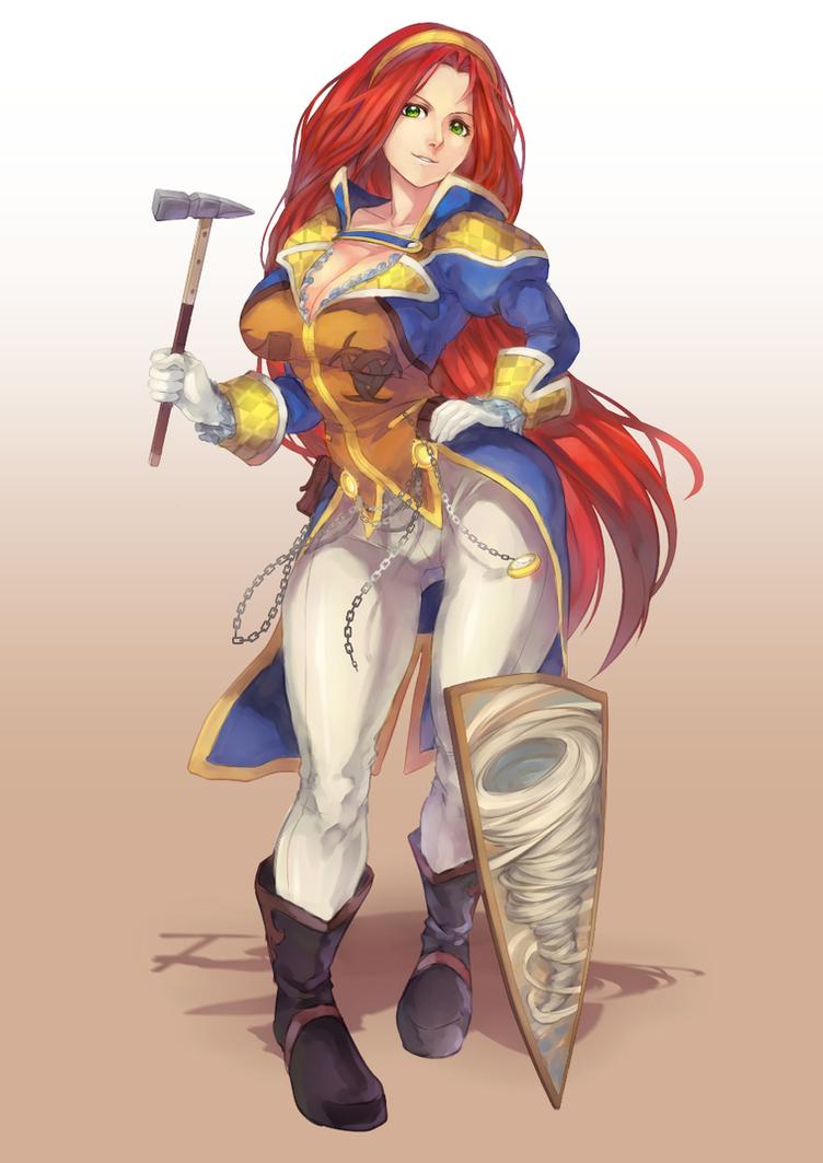 Commission : Agatha Stormsmasher by DomDozz