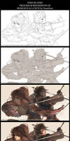 Step by Step - Hongxue and Luxun