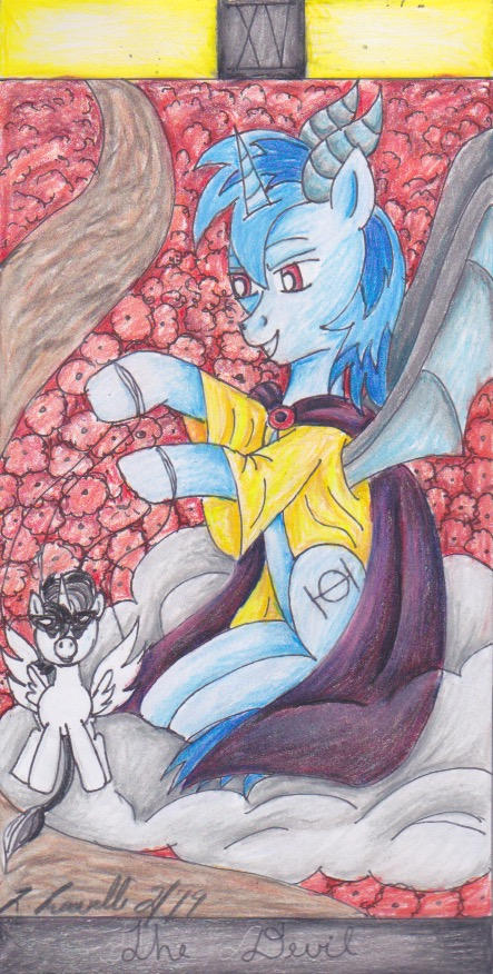 The Devil [Brony Tarot]