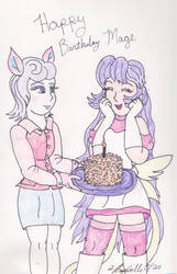 A Honey Cake for Mage [Birthday]