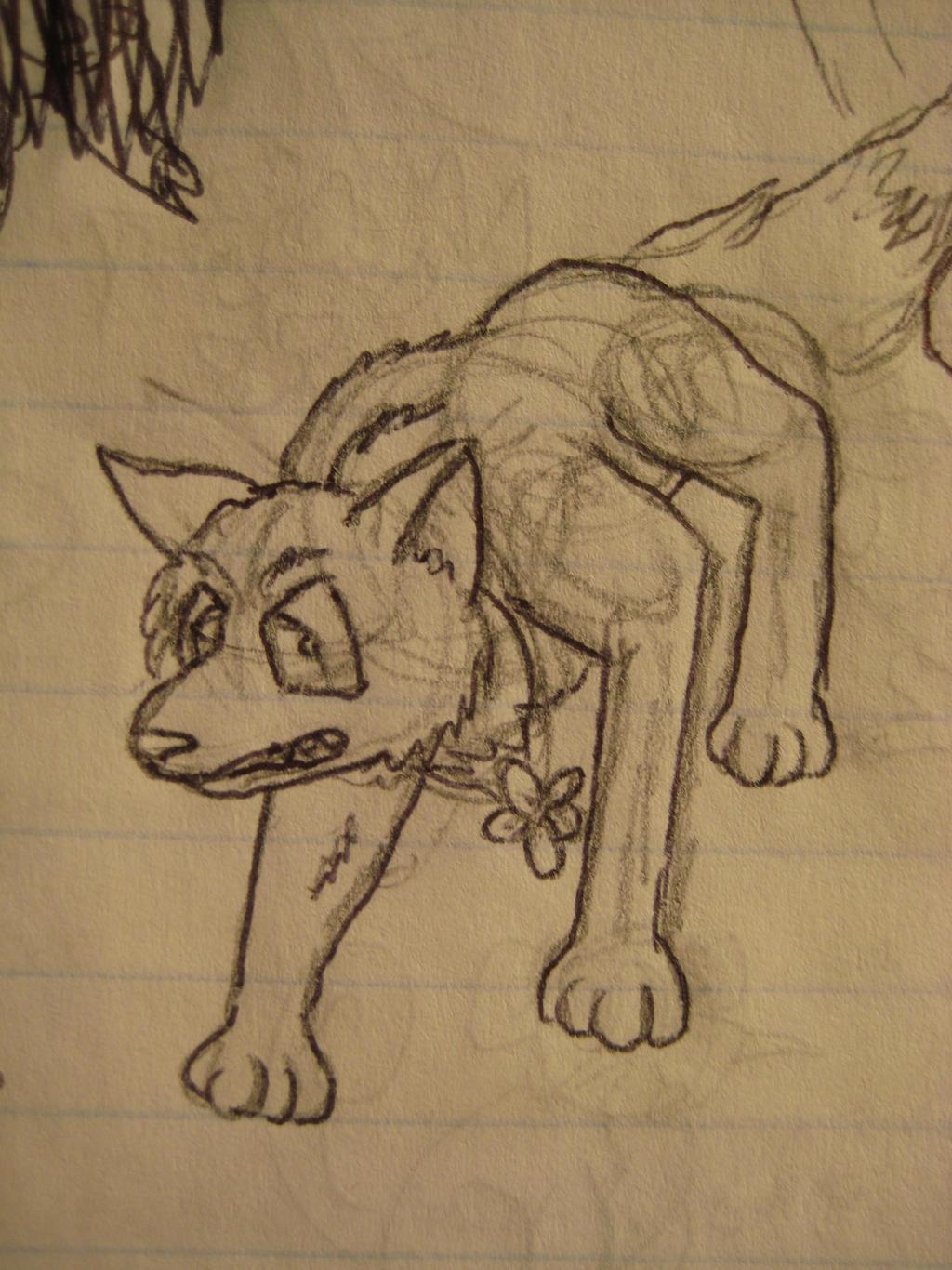 More Fursona-ish Wolf's Rain by GECKO-Nuzlockes
