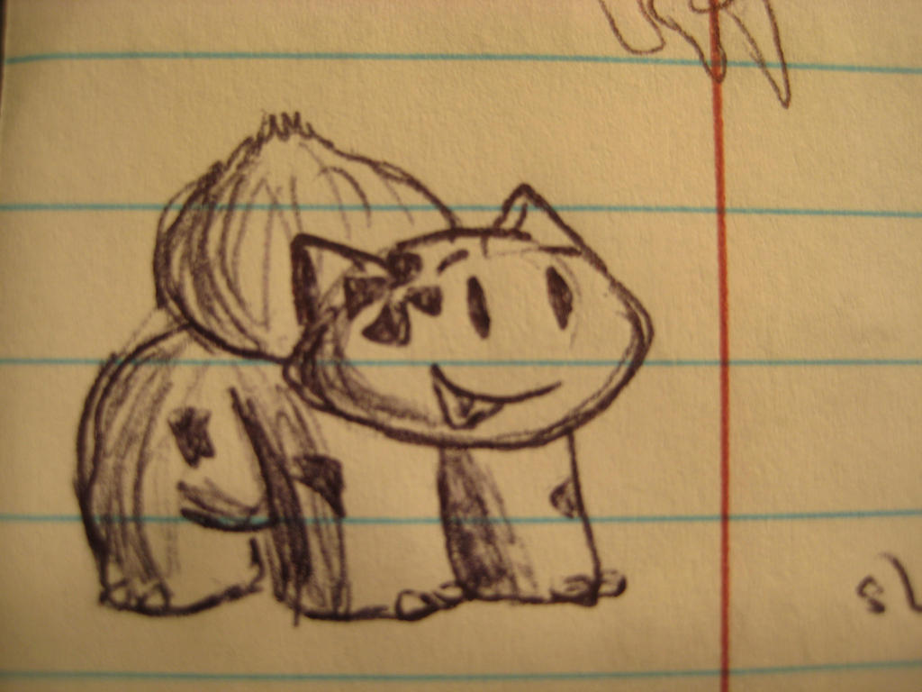 Clover the Bulbasaur by GECKO-Nuzlockes