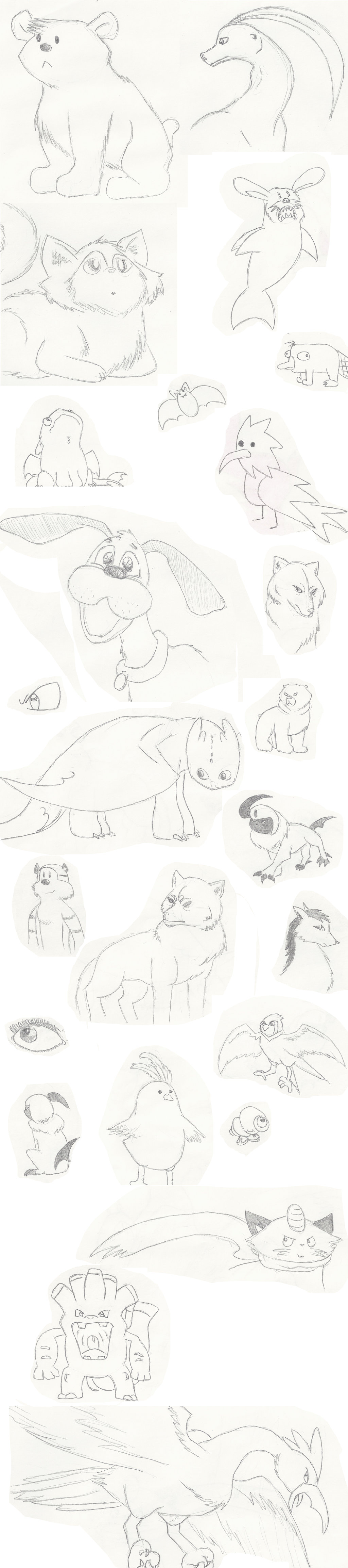 Sketchdump of Randomness! by GECKO-Nuzlockes