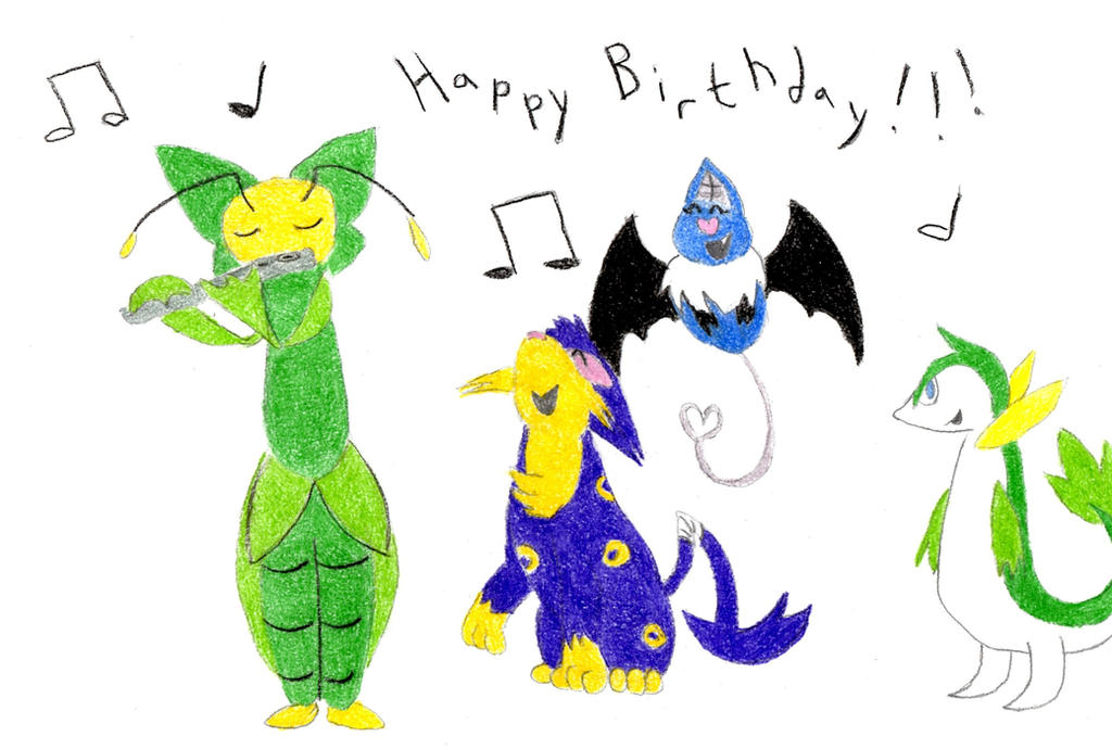 Birthday Art for Greycloud Cat! by GECKO-Nuzlockes