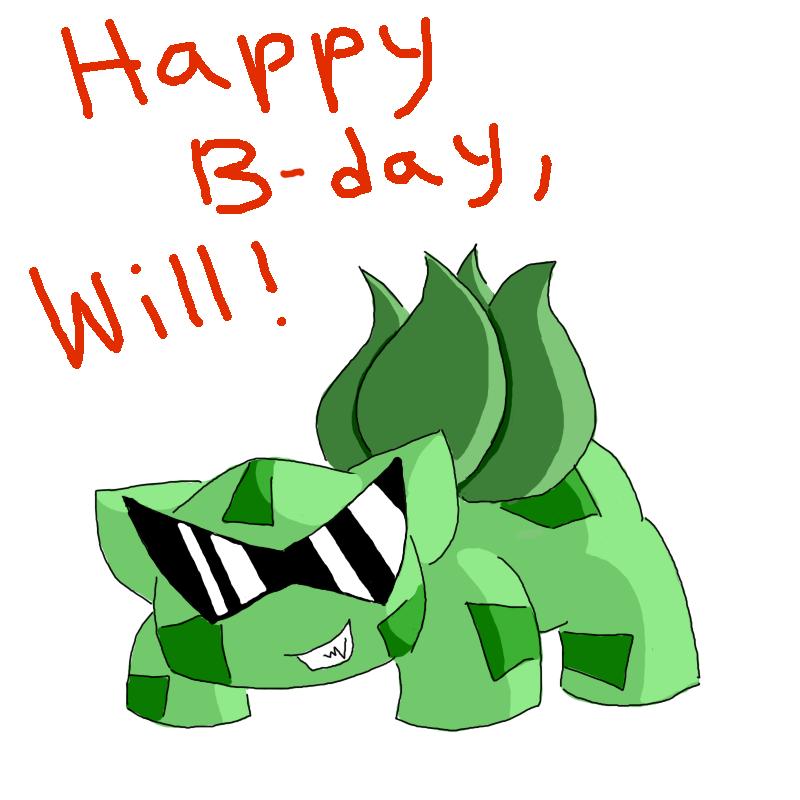 Happy Birthday, Will!! By GECKO-Nuzlockes On DeviantArt
