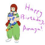 Happy Birthday, Amaya!!!