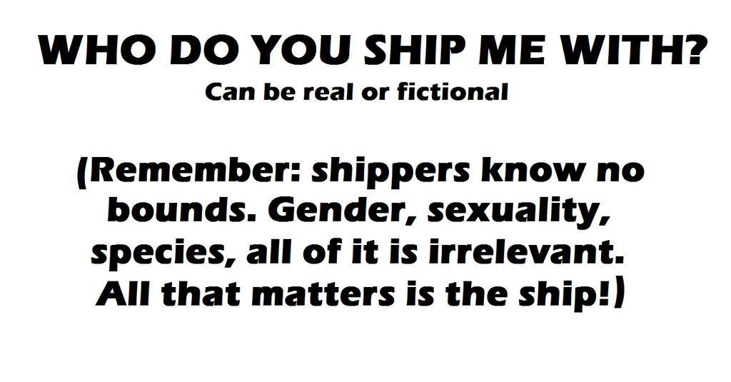 Who Do You Ship Me With? Meme by GECKO-Nuzlockes