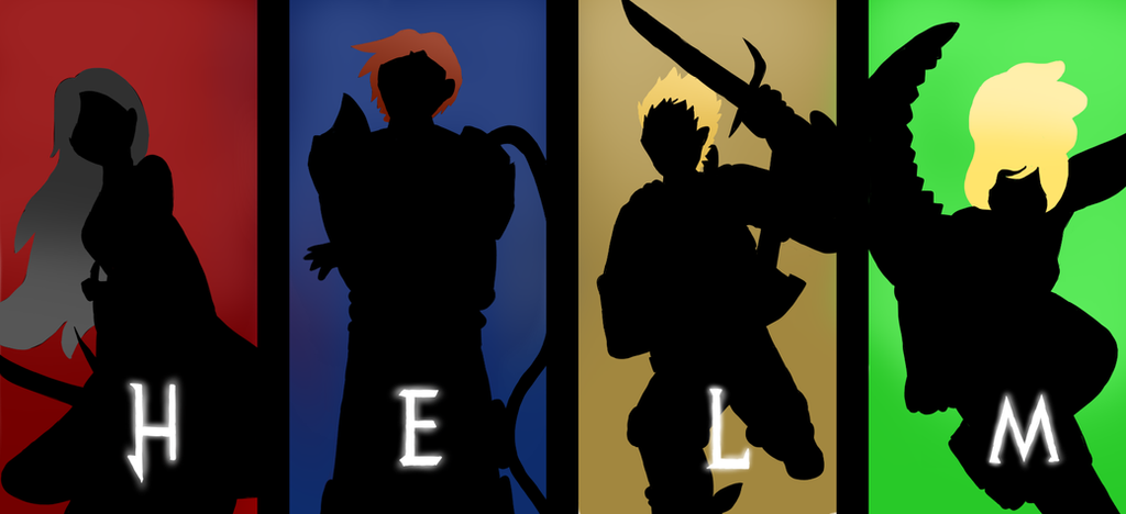 Team HELM - Silhouettes by GECKO-Nuzlockes
