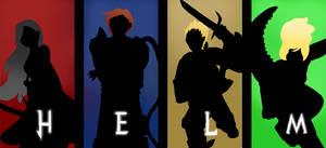 Team HELM - Silhouettes by GECKO-Nuzlockes