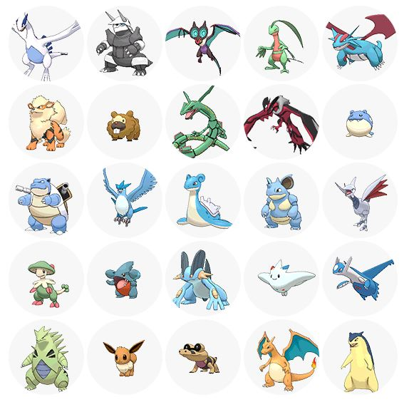 Favorite Pokemon Finder (with notes below!) by GECKO-Nuzlockes