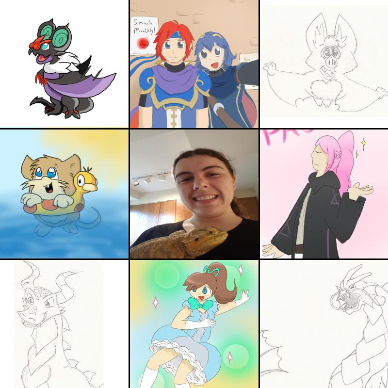 Sora's Art vs Sora's Artist (whut) by GECKO-Nuzlockes