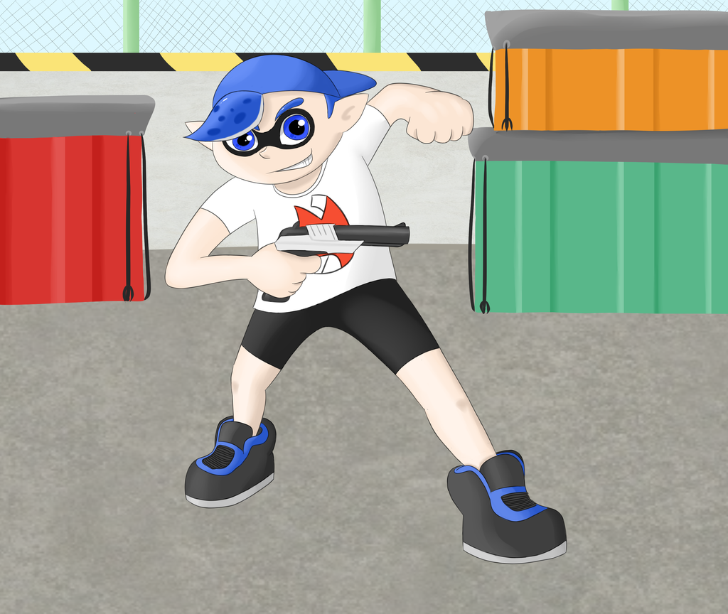 Commission - Greg the Inkling by GECKO-Nuzlockes