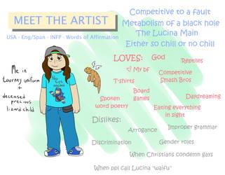 Meet the Artist! Hello :D by GECKO-Nuzlockes