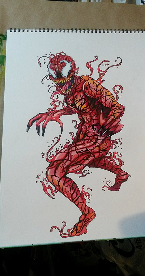 Carnage by thefireoflife