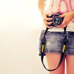 Camera girl by Justysiak