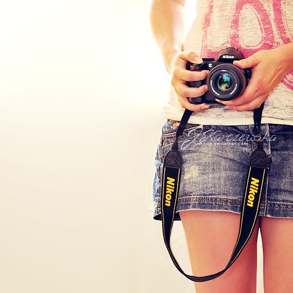 Camera girl by Justysiak on DeviantArt
