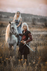 Viserys and Daenerys Targaryen