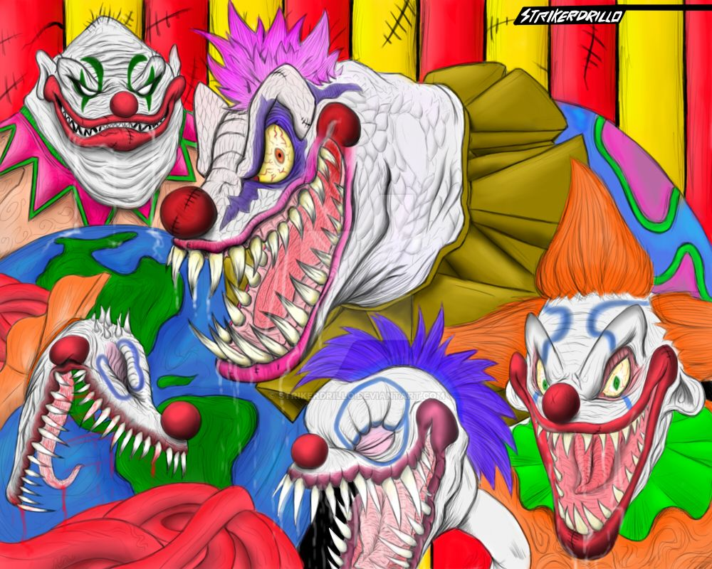 KILLER KLOWNS FROM OUTER SPACE by strikerdrillo