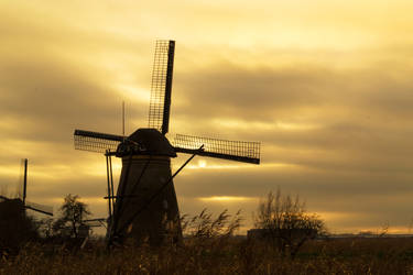 The Mills of Kinderdijk by ArjenCalter