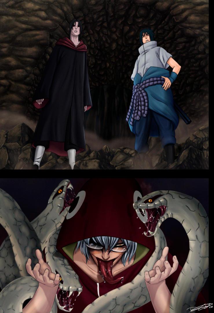 Itachi And Sasuke Vs Kabuto Naruto 578 - itachi and sasuke