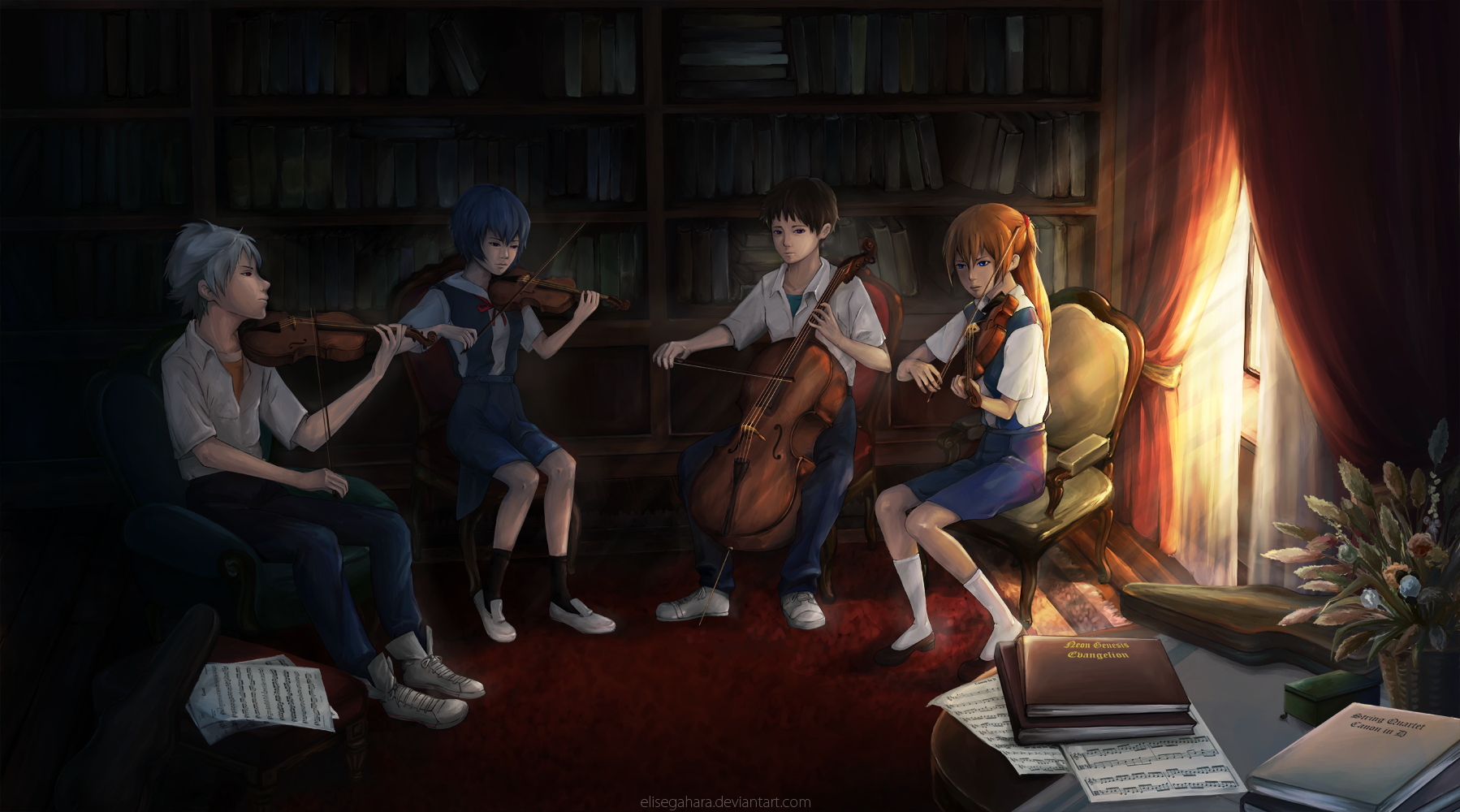 STRING QUARTET: Canon in D by elisegahara