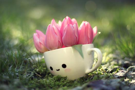 Tulip girl