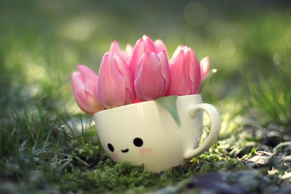 Tulip girl by lieveheersbeestje