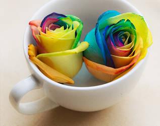 Rainbow drink by meganjoy