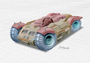 Machine tractor by kennykon72