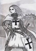 Warriors 9 - Crusader by Gwaylar