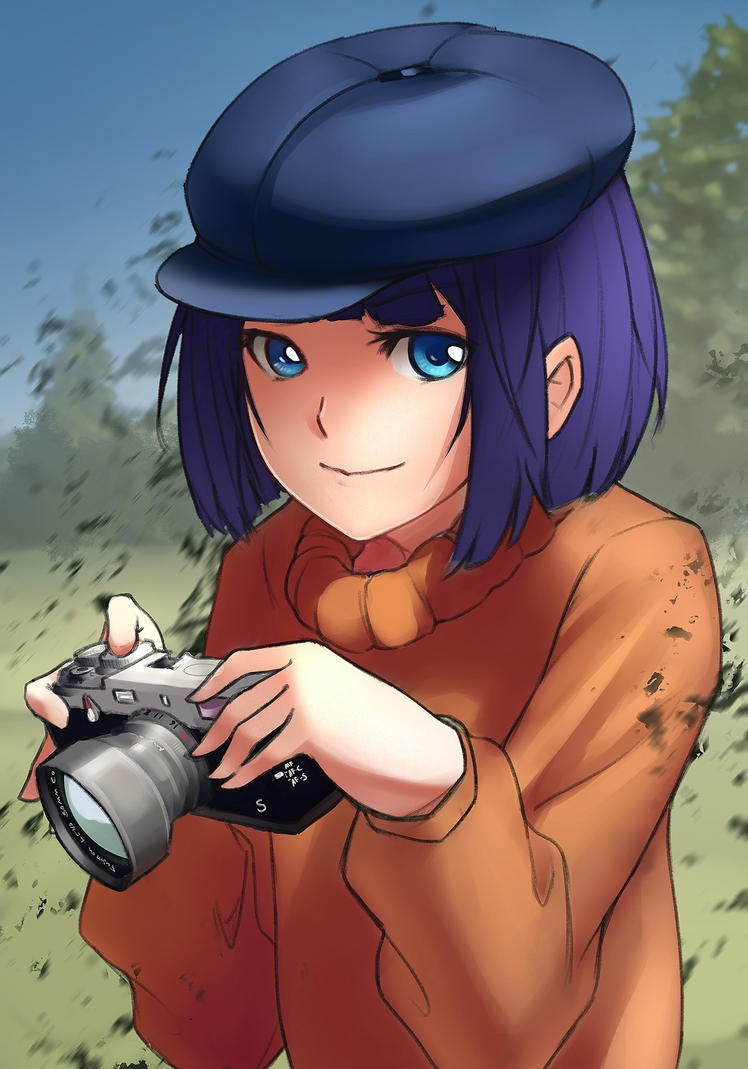 Camera Girl by Murimu