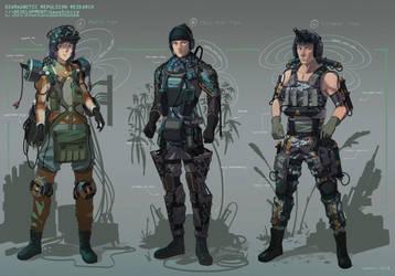 Diamagnetic Armor Designs by CDKN