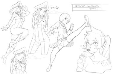 Stream Sketches by CDKN