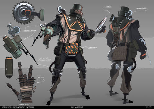 Bot vs Bandit - Bot Design