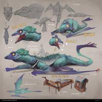 Fantasy Dragon Design