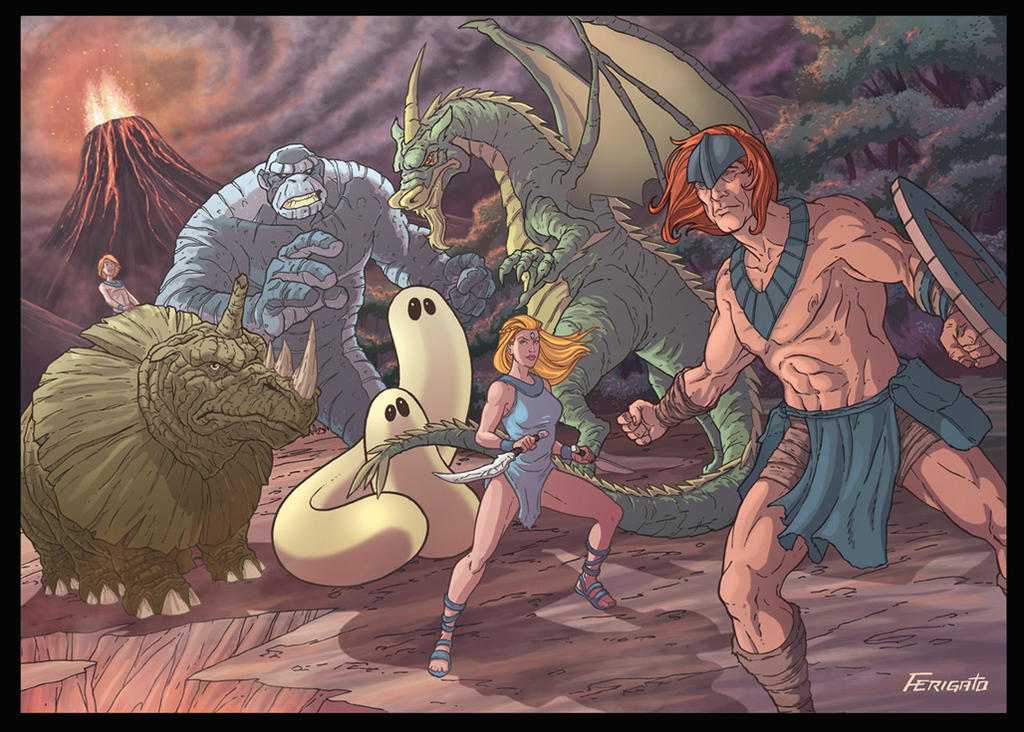 the herculoids tv series was 5 years old when i first