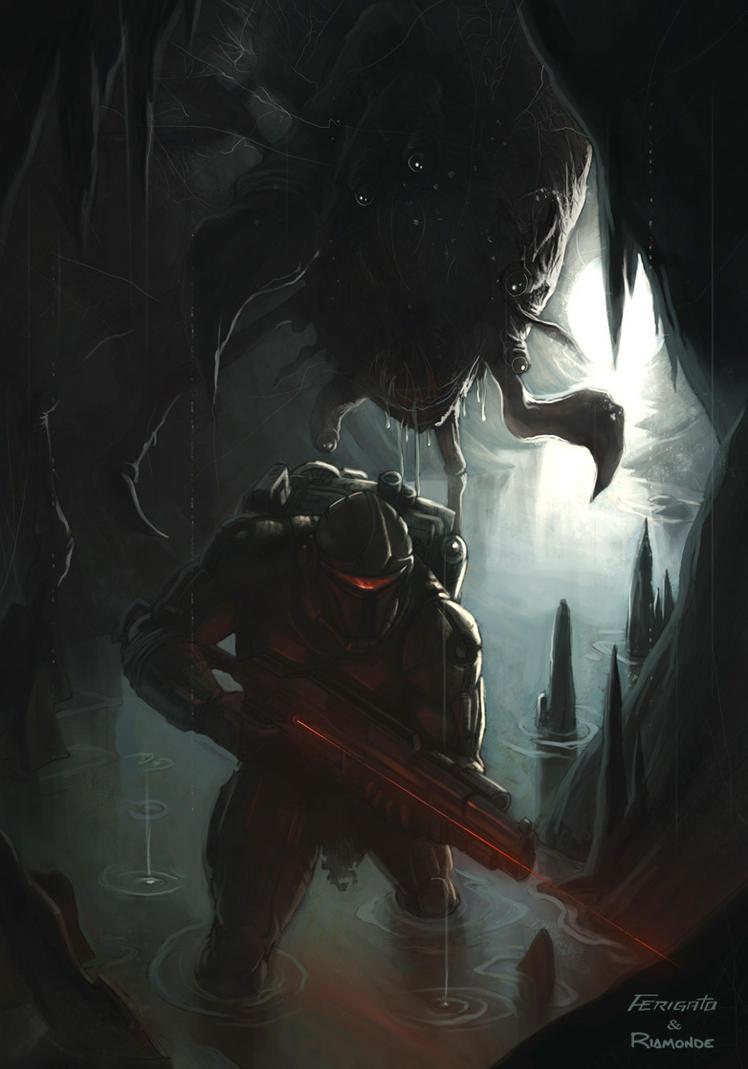 Alien upgrade by Ferigato on DeviantArt