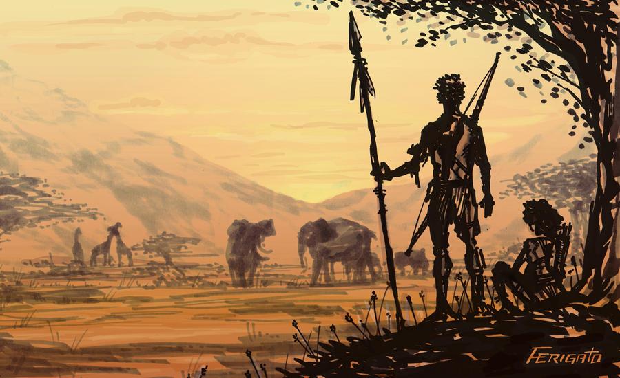 Africa by Ferigato