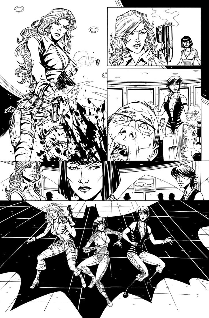 more Batman pg 4 by Ferigato