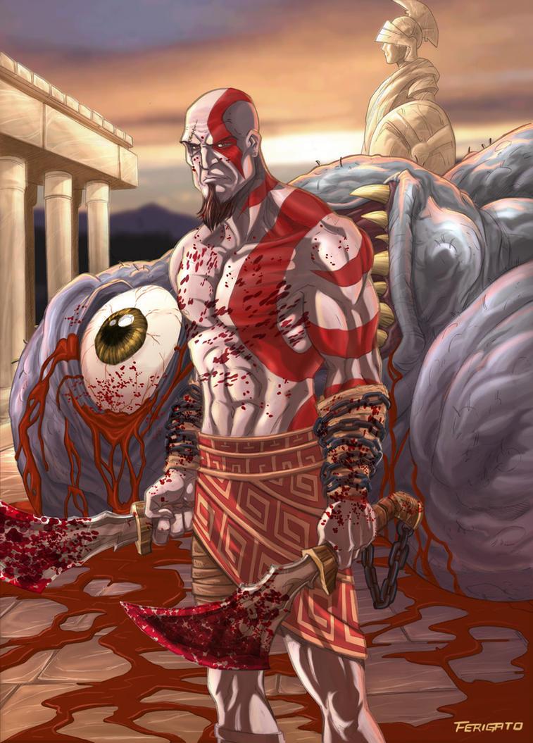 God of war by Ferigato